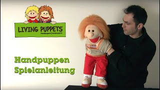 Puppenspiel Tutorial 2 - Klappmaul-Handpuppen Spielanleitung - Living Puppets
