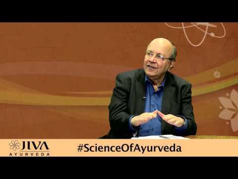 डॉ. चौहान द्वारा आयुर्वेद के विज्ञान पर चर्चा