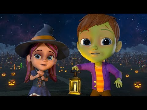 Scary Pumpkin | Halloween Songs for Children | Cartoons for Babies by Little Treehouse