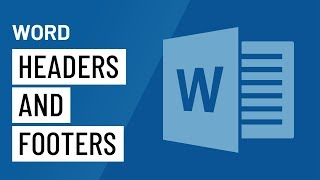 Word: Headers and Footers