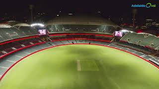 Adelaide oval puts energy efficiency up in lights