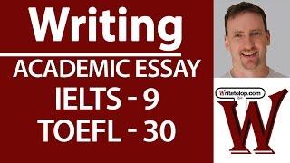 IELTS TOEFL Writing  Full essay (high score) | Kholo.pk
