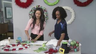Simple DIY Holiday Wreaths