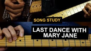 Last Dance With Mary Jane guitar lesson - Tom Petty