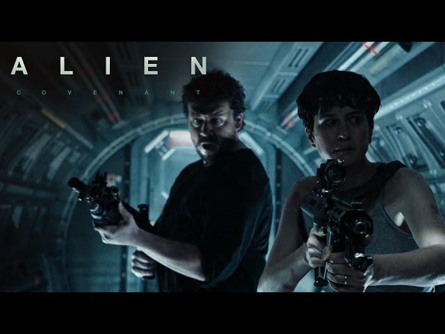 ابطال فيلم Alien: Covenant