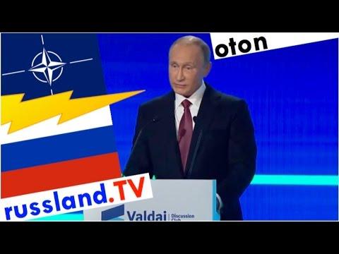 Putin auf deutsch: Neuer Kalter Krieg [Video]