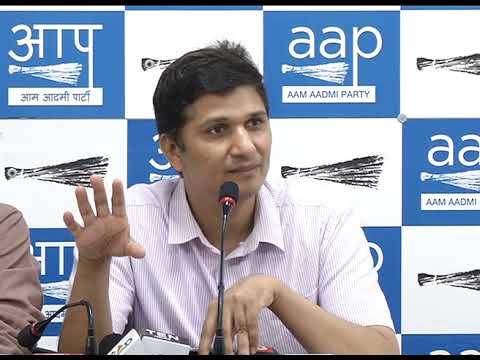 AAP Chief Spokesperson Saurabh Bhardawaj revealed CBI - Delhi Bureaucracy Nexus