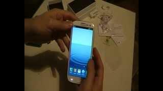 Samsung Galaxy S3 Türkçe Kutu İçeriği ve İncelemesi