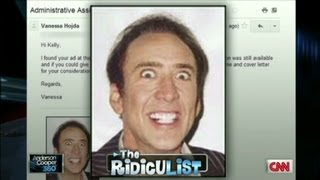 AC360 RidicuList: Resume Blunders - Video Youtube