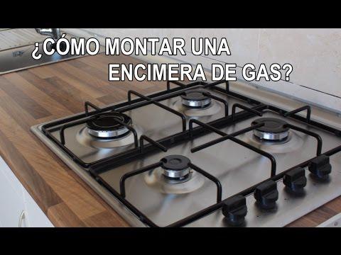 Cómo montar una placa de gas