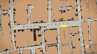 John Snow and the 1854 Broad Street cholera outbreak