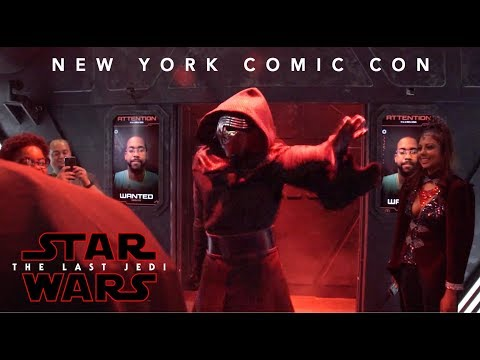 Star Wars: The Last Jedi New York Comic Con Experience