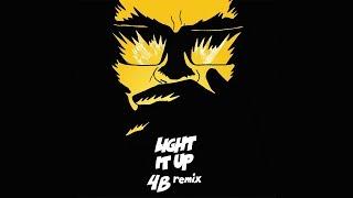 Major Lazer - Light It Up (feat. Nyla & Fuse ODG) (4B Remix) (Official Audio)