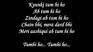 Tum Hi Ho Lyrics With Full Song-Aashiqui 2 Movie Song