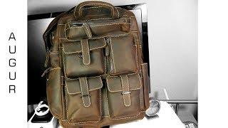 AUGUR Men Backpack Retro- China Rucksack getestet =) - Moschuss.de