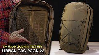 TASMANIAN TIGER URBAN TAC PACK 22