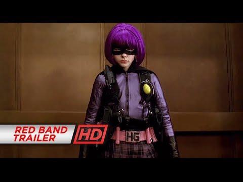 Kick-Ass (2010) - 'Hit Girl' Official Red Band Trailer #1
