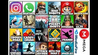 Top 22 Juegos y apps hackeados (dinero,descargar imágenes,gemas y mas)