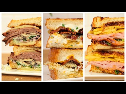 5 EPIC Grilled Cheese Recipes | Happy Grilled Cheese Day