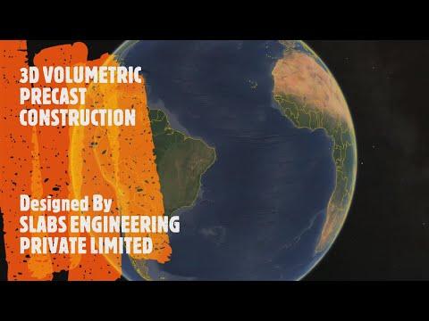 3D Volumetric Prefabricated Precast Construction   POD Construction