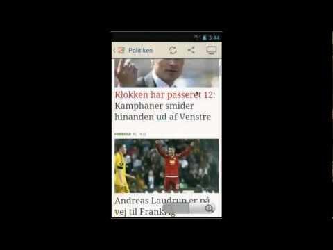 Video of Danske Aviser