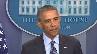 Statement by Pres. Obama Blaming Orlando Murders on lack of Gun Control