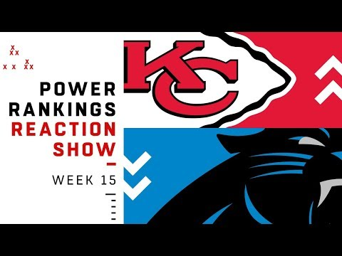 NFL Power Rankings Week 15 Reaction Show: Steelers Out of Top 10   NFL
