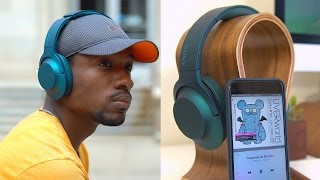 New Favorite Headphones?! Sony H.ear On Wireless!