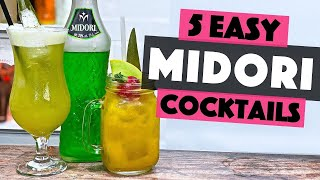 5 Easy MIDORI Cocktails You Can Make At Home