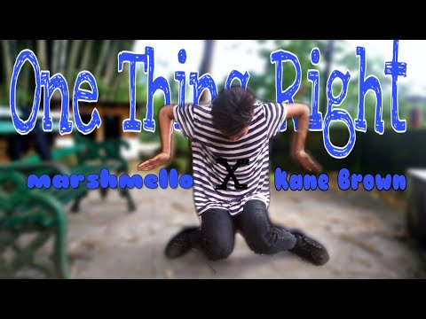 Marshmello × Kane Brown / One Thing Right Dance Cover