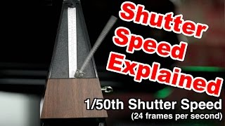 """How To Get That """"CINEMATIC"""" Look When Shooting DSLR Video: Shutter Speed for Stills Vs Video"""