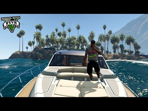GTA V VIDA REAL MODS #6 - MI ISLA PRIVADA Y YATE DE LUJO !! OMG - ElChurches HD Mp4 3GP Video and MP3