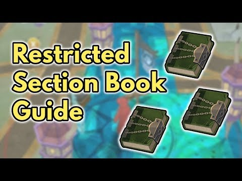 Restricted Section Books Guide | Wizards Unite