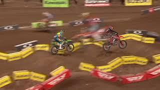 450SX Main Event Highlights - Round 12 Salt Lake City