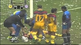 America vs Cruz Azul J24 94 95 05Feb1995 Estadio Azteca