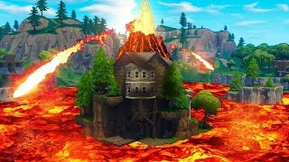 Fortnite Season 9 The Volcano Is Going To Erupt And It