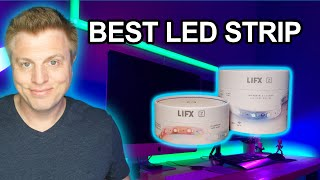 LIFX Z Strip Setup and Demo - Best WiFi LED tape light strip