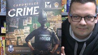 Chronicles of Crime (Corax Games) - ab 12 Jahre - ein richtig cooles Detektivspiel mit App!