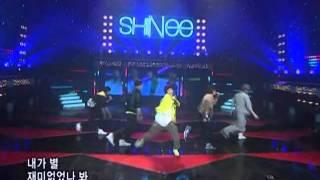 SHINee - You are so beautiful (샤이니-누난너무예뻐) @SBS Inkigayo 인기가요 20080601