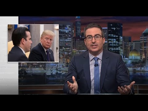 John Oliver - President's Somber Duty Skids Into Spectacle - Last Week Tonight HBO