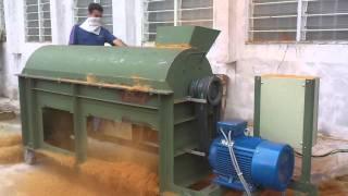 Mesin Penghancur Sabut (buatan - INNOVASI ANGGERIK SDN. BHD.)