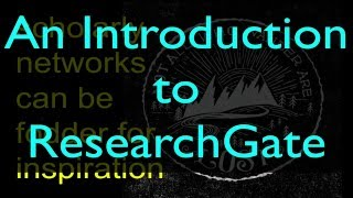 What is ResearchGate & how can I use it?