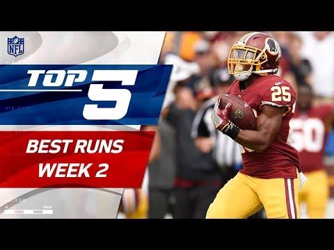 Top 5 Runs of Week 2 | 2017 NFL Highlights
