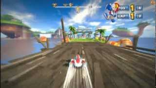 Sonic & SEGA All-Stars Racing - All Star Moves and DLC - PS3