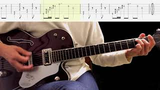 Guitar TAB : Three Cool Cats (Lead Guitar) - The Beatles