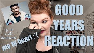 GOOD YEARS - ZAYN REACTION   Alyssa Reacts