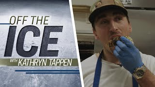 Bruins' Brad Marchand on why he licks opponents | 'Off the Ice' with Kathryn Tappen | NHL on NBC