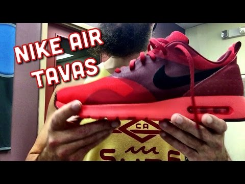"Nike Air Tavas ""University Red"" Review"
