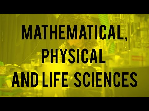 Mathematical, Physical and Life Sciences Division