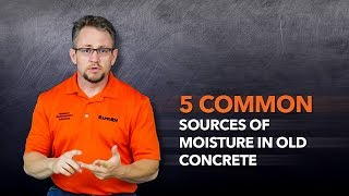 5 Common Sources of Moisture in Old Concrete